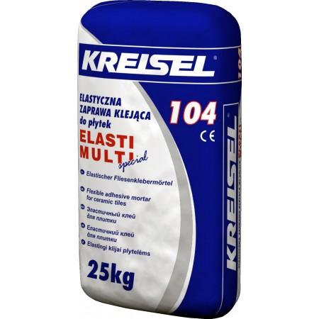 Клей для плитки еластичний Крайзель 104 (25кг)