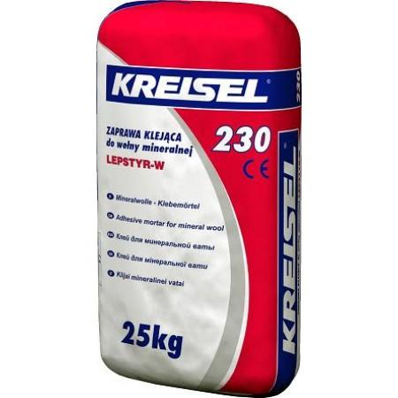 Клейова суміш для мінеральної вати Крайзель 230 (25 кг)