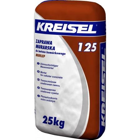 Суміш для кладки газоблоків Крайзель 125 (25кг)