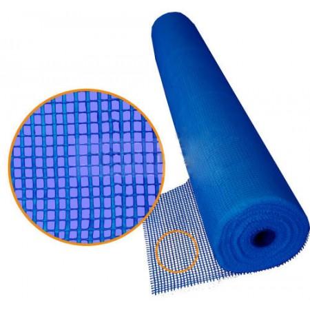Сітка зі скловолокна Мастернет 160г/м.кв, синя 50кв.м.