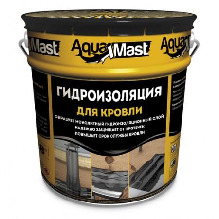Мастика гідроізоляційна Аквамаст покрівля, 10 кг.