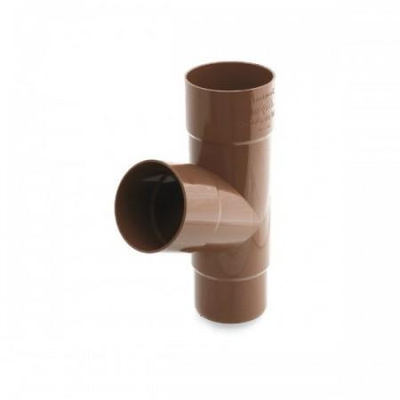 Трійник BRYZA  90/90/90мм. коричневий