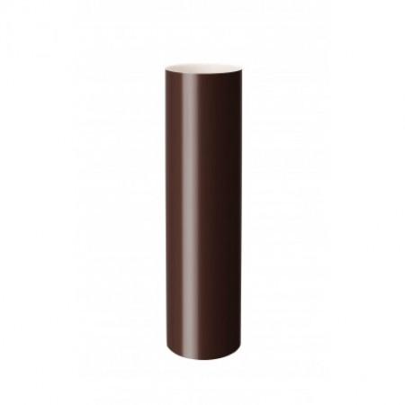 Водостічна труба ІНСТАЛПЛАСТ 100мм. 3м. коричнева