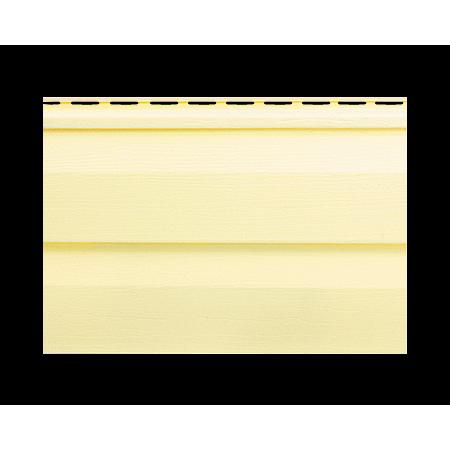Панель вінілова лимонна Т-01*УN 3,66х0,230 (10шт в упак)