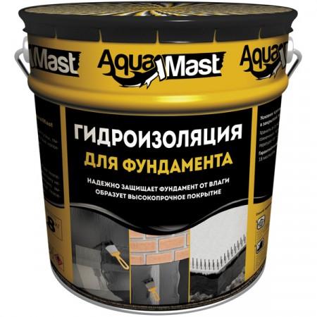 Мастика гідроізоляційна Аквамаст фундамент, 10 кг.