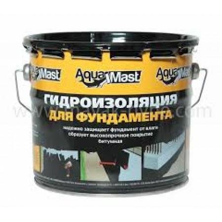 Мастика гідроізоляційна Аквамаст фундамент, 3 кг.