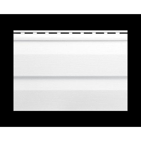 Панель вінілова біла Т-01*УN 3,66х0,230 (10шт в упак)